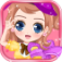 Fashion School Girl Dress Up App Icon