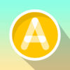 ABC Writing in Flat Design app icon