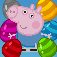 Bubble Shooter Peppa Pig edition iOS Icon