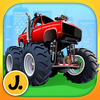 Monster Trucks and Sports Cars Puzzles app icon