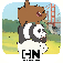 Free Fur All – We Bare Bears Minigame Collection iOS Icon