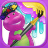 Color with Barney app icon