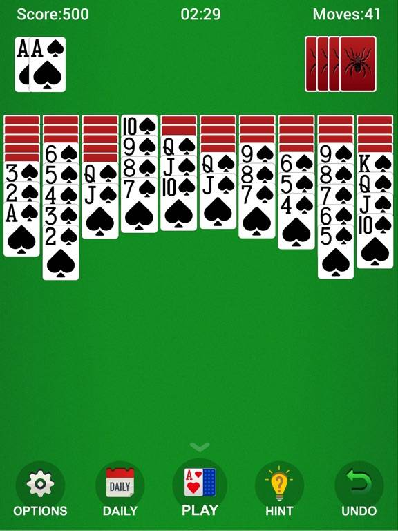 ~Spider Solitaire