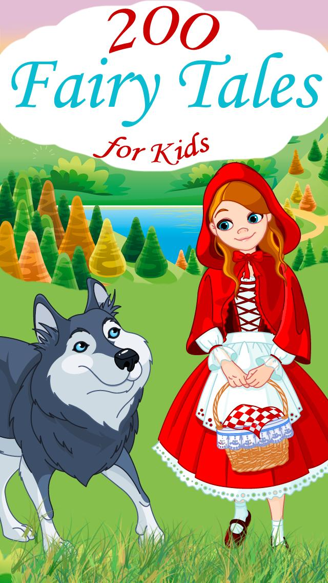 200 Fairy Tales for Kids