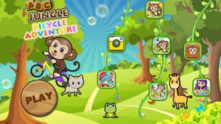 ABC Jungle Bicycle Adventure preschooler eLEARNING app