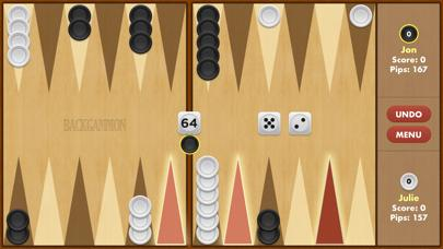 Backgammon Pro App Screenshot