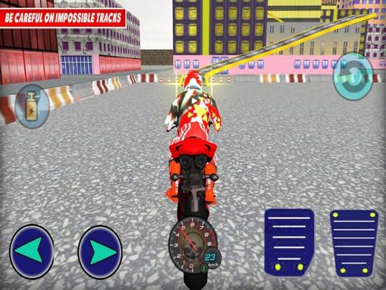 Bike Epic Driving Stunting App Screenshot