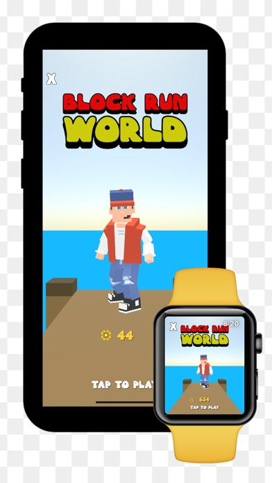 Block Run World App Screenshot