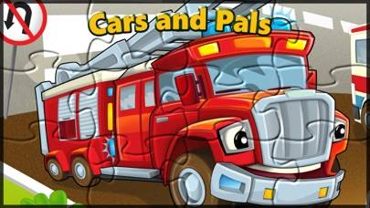 Cars and Pals: Car Truck and Train Jigsaw Puzzle Games for Kids and Toddler