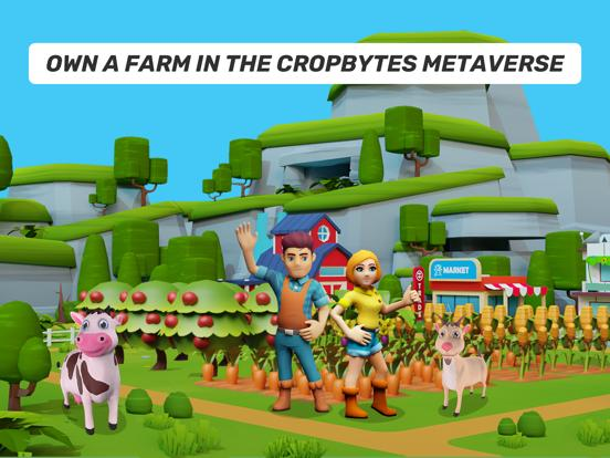 CropBytes Farm App Screenshot