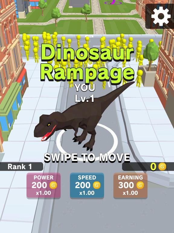 Dinosaur.io App Screenshot
