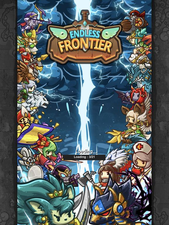 Endless Frontier Saga 2 App Screenshot