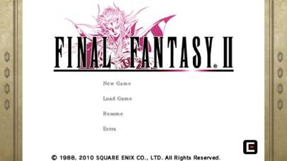 FINAL FANTASY II App Screenshot