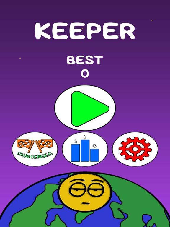Keeper Game App Screenshot