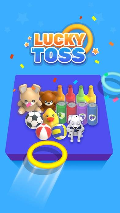 Lucky Toss 3D App Screenshot