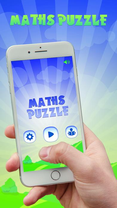 Maths Puzzles Games App Screenshot