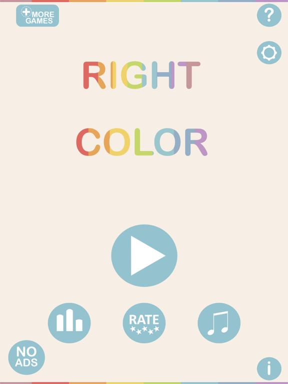 Right Color Hit