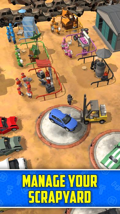 Scrapyard Tycoon Idle Game App Screenshot