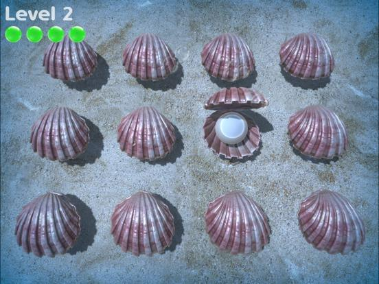 Sea Shell Game App Screenshot