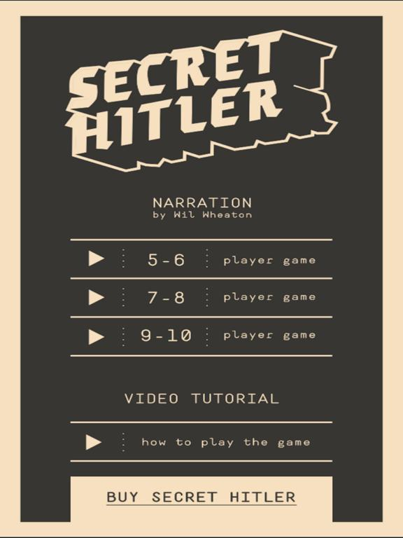 Secret Hitler Companion