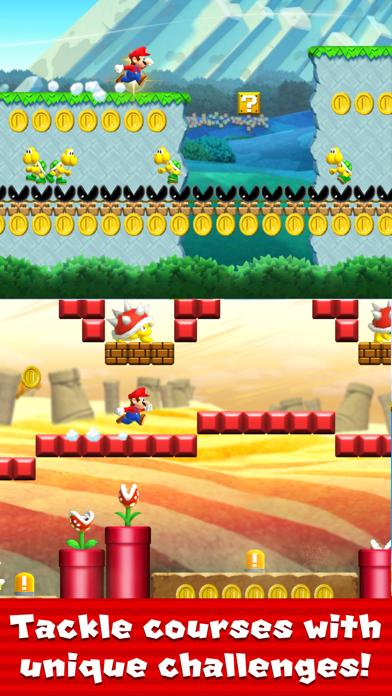Super Mario Run App Screenshot