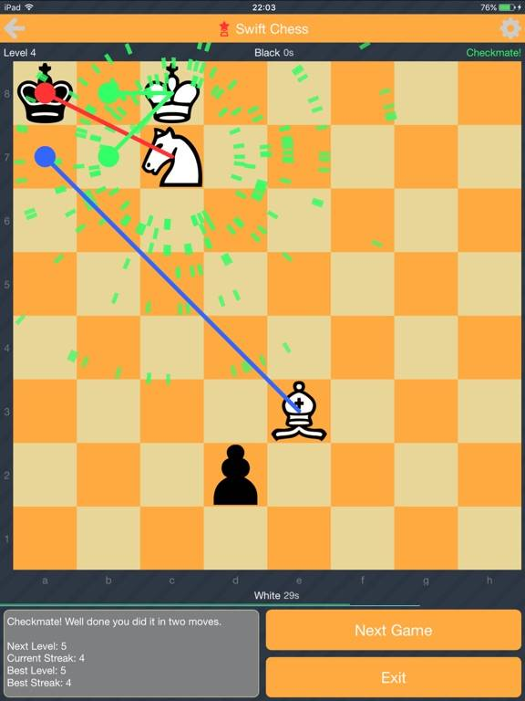 Swift Chess: Endgame Puzzles