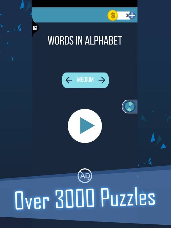 Words in Alphabet App Screenshot