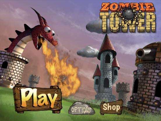 Zombie Tower Shooting Defense Free